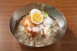 シャリシャリ冷麺